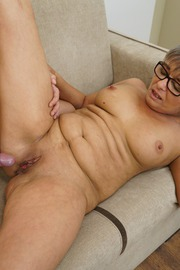 The Charms Of A Granny's Pussy-12