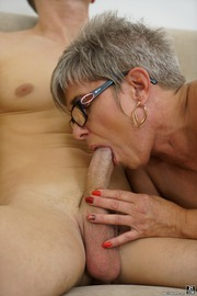 The Charms Of A Granny's Pussy-18