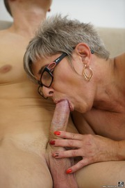 The Charms Of A Granny's Pussy-19