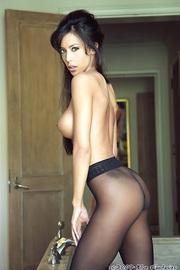 Linda Oneil In Black Pantyhose-14