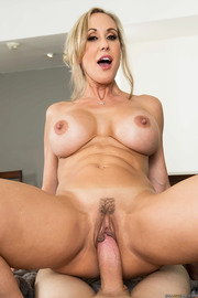 Brandi Love Stunning MILF Gets Drilled On The Couch-17