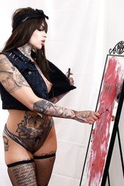 It takes a lot to make gorgeous, insatiable women like Leigh Raven happy.-01