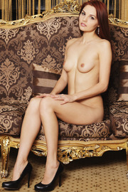 Sexy Naked Redhead Babe Alise Moreno-00