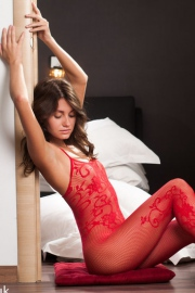 Love The Red Lingerie Very Horny-02