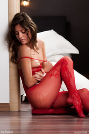 Love The Red Lingerie Very Horny-05