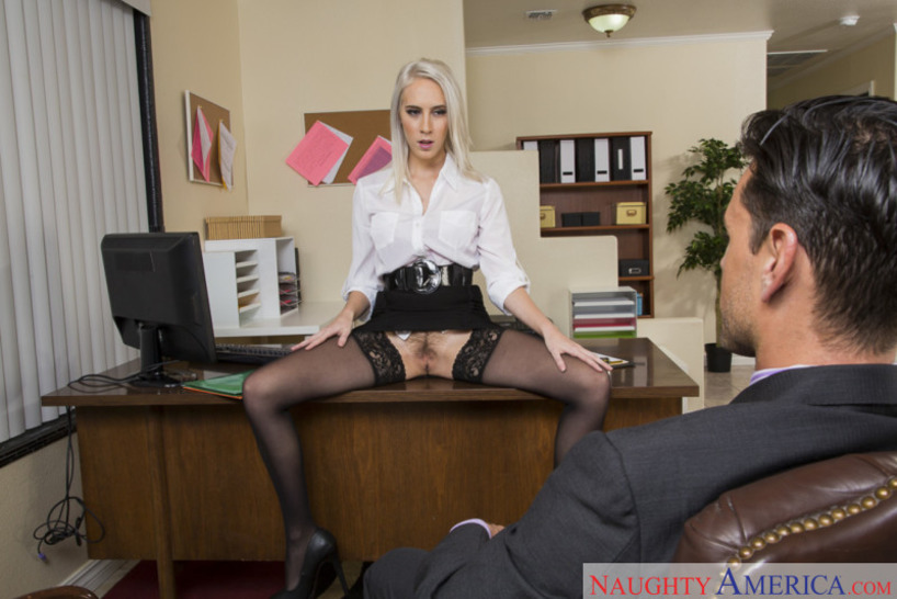 Naughty Office Featuring Cadence Lux 01