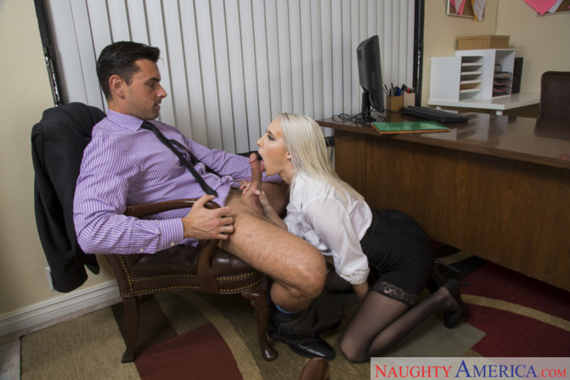 Naughty Office Featuring Cadence Lux 02
