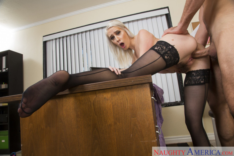 Naughty Office Featuring Cadence Lux 10