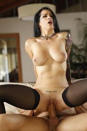 Tattooed Pornstar Katrina Jade Sucking And Fucking-15