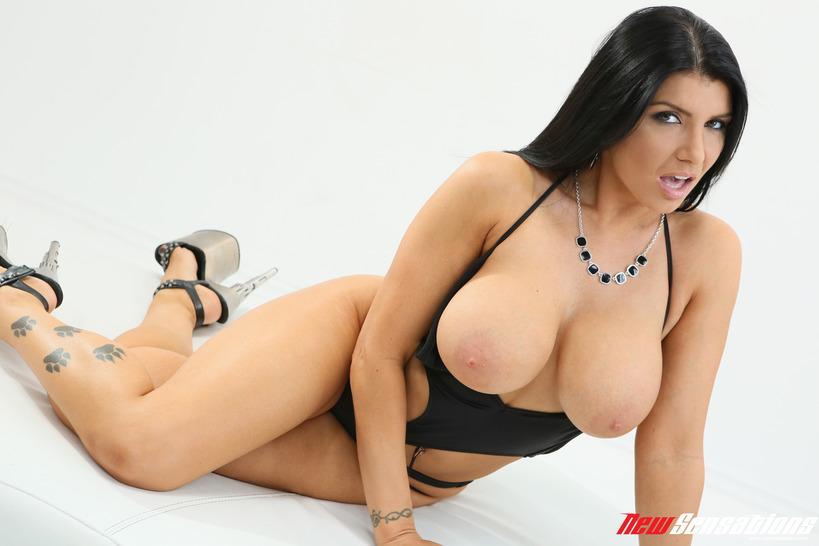 Sexy Busty Romi Rain 13