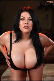 Latina Busty Pinup Girl -07