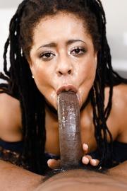 Kira Noir Dirty Ebony Slut Gives A Hot Blowjob-12