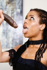 Kira Noir Dirty Ebony Slut Gives A Hot Blowjob-14