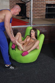 Charming Woman Is So In Heat That Ready To Satisfy Her Eager Holes-01