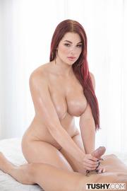 Redhead Busty Slut Skyla Novea-05