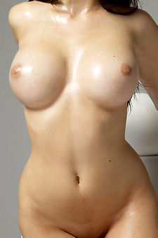 Oiled Big Boobs