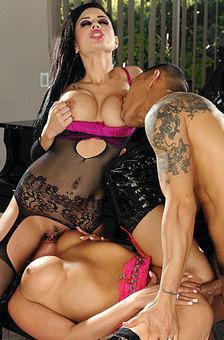 Hot Pornstars' Threesome