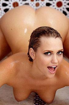 Mia Malkova Stimulates Her Wet Pussy