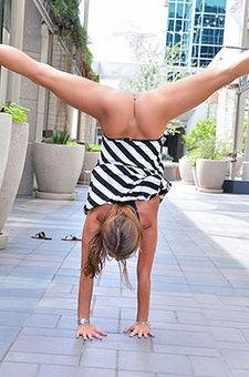 Mery Acrobatics In Public