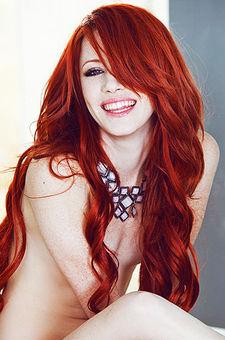 Glamour  Redhead Babe Elle Alexandra