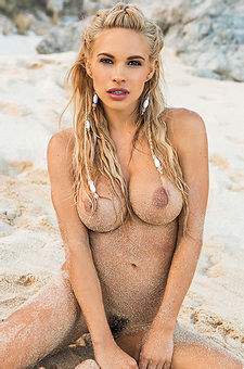 Dani Mathers Naked By The Sea