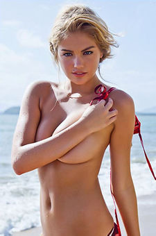 Kate Upton On The Beach