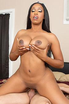 Ebony Pornstar Codi Bryant Fucked By A White Cock