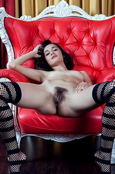 Chandra In Stockings