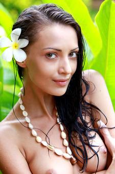 Flowery Anna AJ Natural Nude