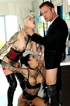 Rocco Siffredi, Bonnie Rotten And Kleio Valentien