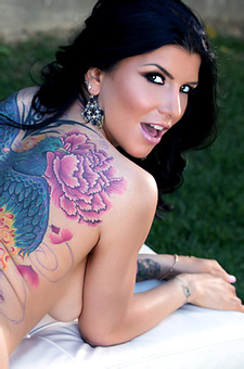 Romi Rain Shows Off Her Sexiness