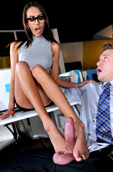 Janice Griffith Gets Fucked By Her Boss
