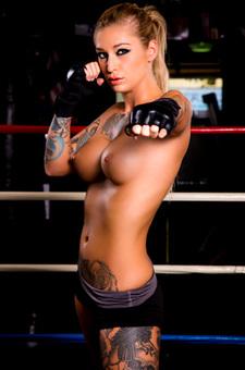 Professional Boxer Kleio Valentien