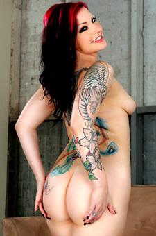 Tattooed Slut Tori Lux