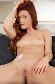 Margy Is A Natural Redhead Beauty