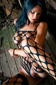 Rebeka In Full Fishnet