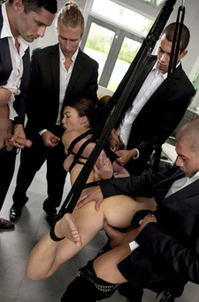 Tiffany Doll Spends Her Punishment