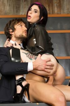 Joanna Angel Anal Sex In Latex