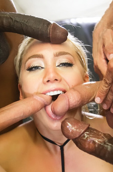 Aj Applegate Interracial Orgy