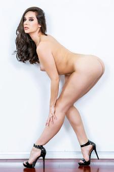 Horny Cassidy Strip Off Her Blue Lingerie