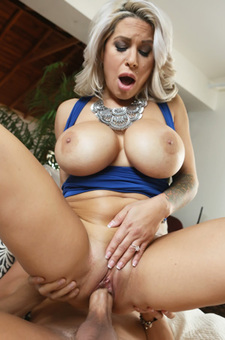 Curvy Milf Alyssa Lynn Gets Fucked And Facialized