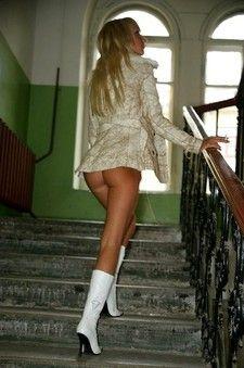 Dasha White Boots