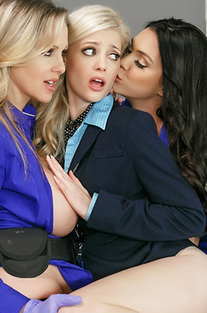 Julia Ann And Alison Tyler And Charlotte Stokely