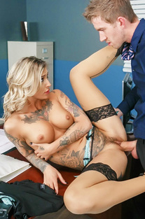 Sexy Secretary Kleio Valentien