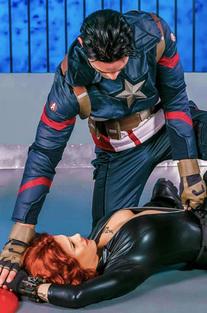 Natasha Romanoff Gets Fucked