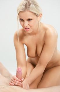 Lara Doing Penis Massage