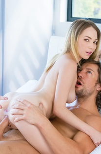 Tiny Blonde Angel Smalls Takes An Anal Creampie