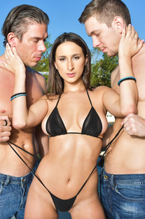 Ashley Adams First Double Penetration