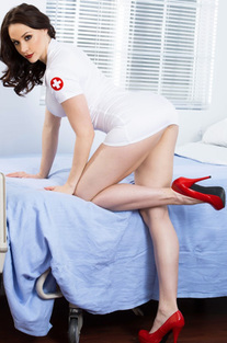 Sexy Doctor Chanel Preston Strips And Spreads