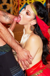 Arabian Princess Aria Alexander Fucked In The Harem